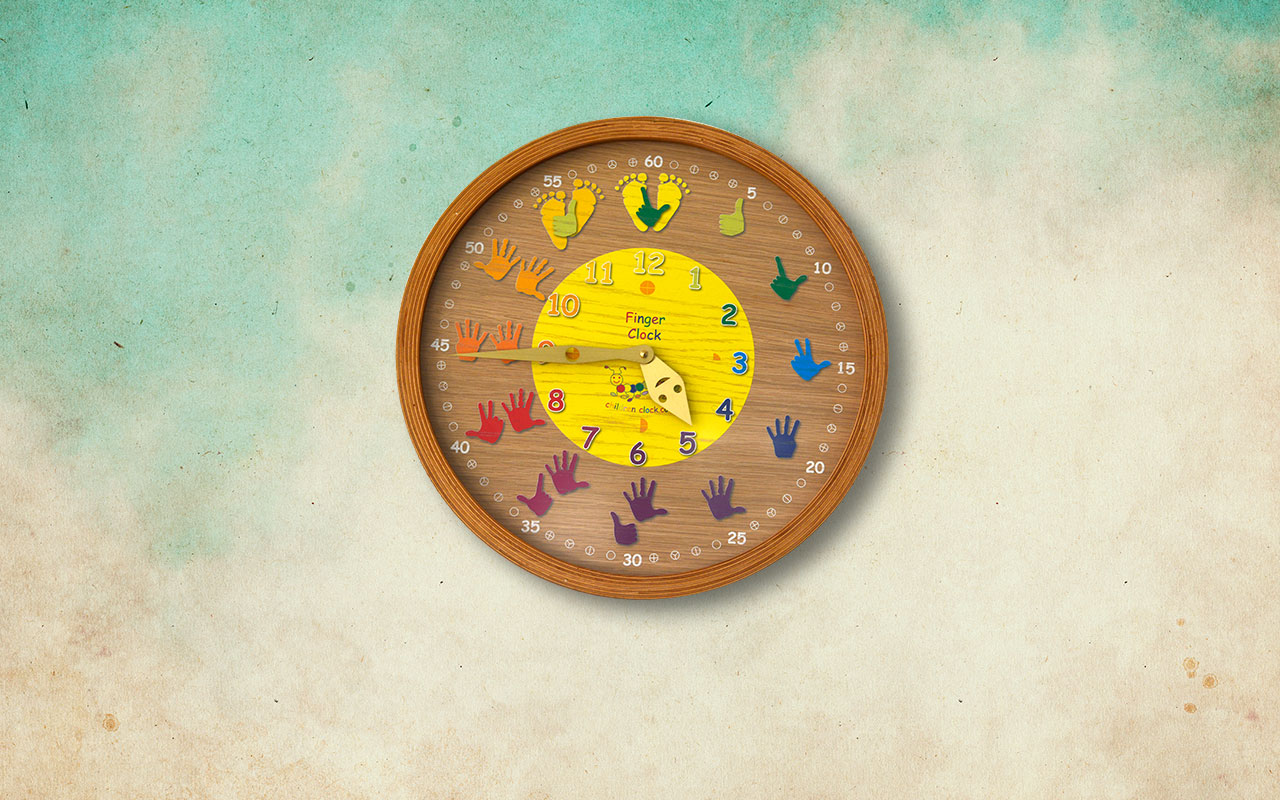 Children-clock finger-clock-max 2018 - Children-Clock - Kinderuhren